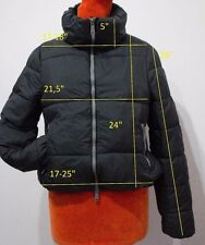 SILVIAN HEACH size L us M 8 10 women PADDED JACKET windproof black CVA13273PI