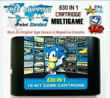 830 in 1 Sega mega drive Game Cart New UK Seller fast post no import VAT