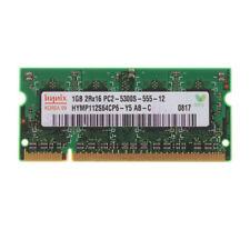 Para Hynix 2GB 4GB PC2-5300 Memoria RAM para computadora portátil 6400 1066 1333 DDR2 Lote de DDR3 @ 10H
