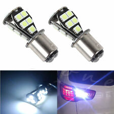 2x White CANBUS 1157 BAY15D 21 LED 5050 SMD P21/5W Brake Tail Light Bulb DC 12V
