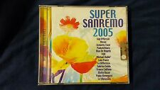 COMPILATION  - SUPERSANREMO 2005 (TOZZI CALIFANO PAOLA & CHIARA...). CD