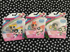 Powerpuff Girls, 2016 Set Of Figures 2 Inches Dolls BLOSSOM BUBBLES BUTTERCUP