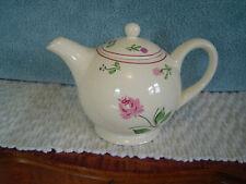 Blue Ridge Southern Potteries, Inc. Lynn Pattern Ball Shape Teapot