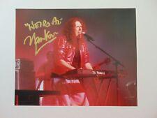 """Eat It"" ""Weird Al"" Yankovic Hand Signed 10X8 Color Photo Autograph World COA"