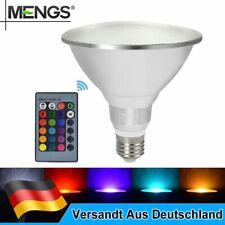 MENGS E27 PAR38 20W LED RGB Lampe Energiesparlampe Fernbedienung Wasserdicht