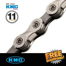 KMC X11.93 Silver Chain 11-Speed 114 link with Missing Link for ROAD/MTB