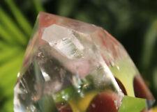 "170g Rare Natural Clear ""stone inside Stone "" Quartz Crystal Point Healing B2178"