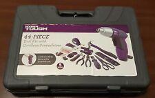 44 Piece Woman Home Repair Tool Set Kit Box Purple for Girls Ladies Females