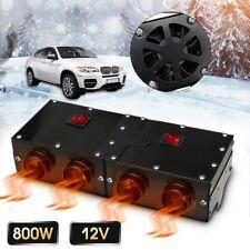 800W 4 Holes 12V Car Vehicle Fan Heater Defroster Demister Heating Warmer A2I4G