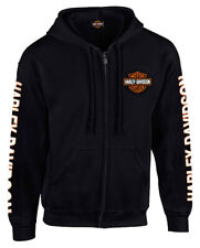 Harley-Davidson Mens Dealer Zip Up Hoodie 30299142