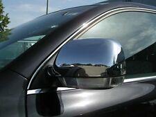 CACHES CHROME COUVRES COQUILLES COQUES RETROVISEURS pour VW TOUAREG I 2002-2006