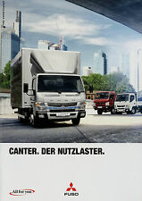 Prospekt Mitsubishi Canter Fuso 1/14 2014 Nutzfahrzeugprospekt Broschüre LKW Aut