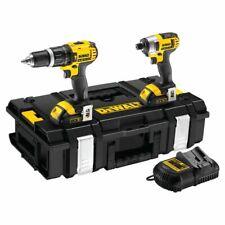 Dewalt DCK235C2-GB 14V Twin Pack With 2 x 2Ah Batteries,Charger & Case