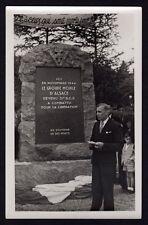 █ Photo SEPPOIS-LE-BAS 68 Monument du Groupe Mobile d'Alsace GMA Novembre 1944 █