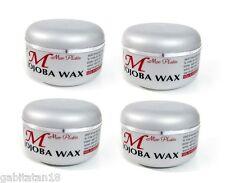 Mon Platin Wax X 4 Jojoba Hair Wax 150ml / 5.1oz FREE SHIPPING WORLDWIDE