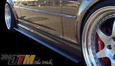 BMW E46 M3 01-06 GTR-S Side Skirt Diffuser Extensions Carbon Fiber CFRP