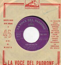 GIAN MARIO GUARINO disco 45 giri MADE in ITALY Serenata + Valzer delle candele
