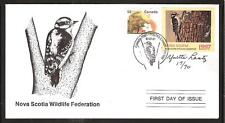 CANADA NOVA SCOTIA # NSW6 WILDLIFE CONSERVATION 1997 FIRST DAY COVER