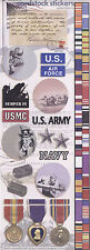 """""""Military"""" Cardstock Stickers - Paper House Productions"""