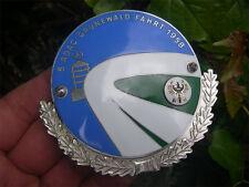RALLYE AVUS BERLIN 1958 Badge - GRUNEWALDFAHRT !!