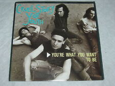 """CRUEL STORY OF YOUTH You're What You Want To Be PROMO 1989 P/S 7"""" MINT"""