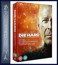 DIE HARD-LEGACY COLLECTION - ALL 5 MOVIES **BRAND NEW DVD BOXSET **