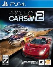 NEW! PROJECT CARS 2 (Sony PlayStation 4, PS4 2017) Factory Sealed *PLEASE READ*