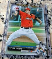 TREVOR ROGERS 2017 Bowman #1 Draft Pick 1st TRUE ROOKIE CARD RC Marlins $ HOT $
