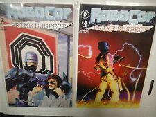 Dark Horse Robocop Prime Suspect Comic # 2,4  SMCO4