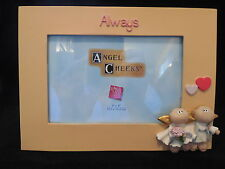 Angel Cheeks picture frame Always Russ Berrie holds 4X6 photo