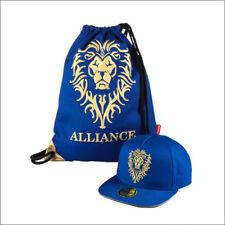 A Set Official World of Warcraft Alliance Value Pack Cap Snapback & Backpack Bag