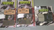 kit pastiglie anteriori + posteriori Kawasaki ZZR 1100 1200 1993-2005
