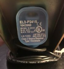 SICK EL3-P2415 PNP Light Sensor  With Bracket - New  Sensor