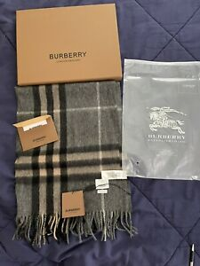 burberry scarf cashmere authentic