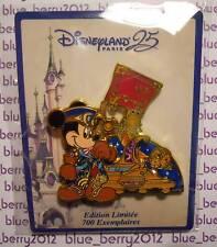 Disney land Paris 25th anniversary 25eme anniversaire Pin Parade Mickey 25e DLP