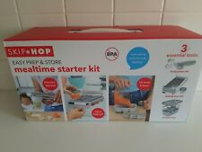 Brand New in Box Skip Hop Mealtime Starter Kit 24 pieces