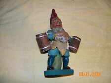 Antique Elf Garden Gnome Statue