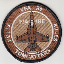 VFA-31 TOMCATTERS DESERT SHOULDER PATCH