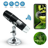 HD WiFi Portable 1000x Magnifier USB Digital Microscope for Android iOS iPhone