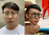 Customize 1:6 Male Female Head Sculpt Carving Toy   Pay Attentions,Please