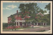 Postcard TOCCA Georgia/GA  Albermarle Tourist Hotel view 1930's