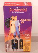 NEW Disney Pocahontas Adventure Kit Payless Golden Book Figures Stickers