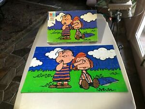 Peanuts - Jigsaw Puzzle - 1977 - Linus and Peppermint Patty - Complete