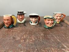 More details for vintage 5 x toby character jugs  lancaster sandland shakespeare raleigh scottie