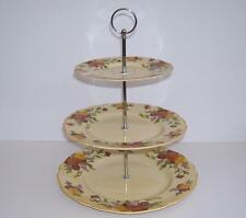 "Vintage Royal Doulton ""Marigold D5126"" 3 Tier Cake/Afternoon Tea Stand."