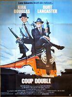 Plakat Kino Original Kick Doppel- Kirk Douglas Burt Lancaster - 120 X 160 CM
