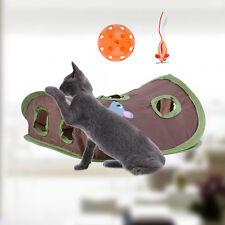 Pet Cat House Tunnel Toys Multi-holes Funny Holes Kitten Pet Mouse Hunt Cat Toys