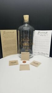 Apothecary Jar by Studio Penny Lane GRATITUDE IS GOLDEN Clear Glass NIB