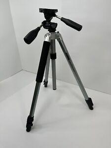 SUNPAK DigiPro XLF Digital Camera Tripod With 3-Way Pan Head & Quick Release VGC