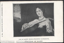 People Postcard - The Rt Hon Maria-Frances-Catherine - Countess of Roden  MB2537